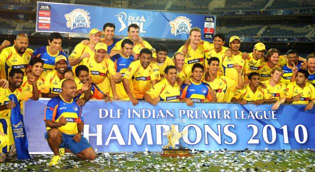 IPL 2010 Champion - Chennai Super Kings