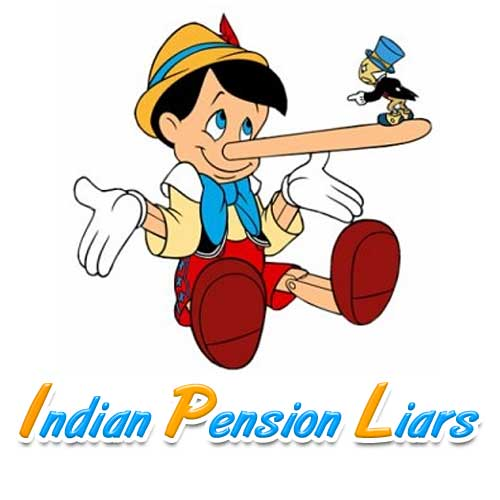 Indian Pension Liars